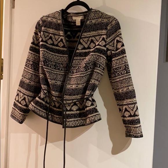 🆕NEWTribal print textured Jacket